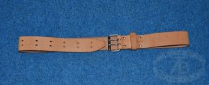 50mm (Twin Tab) Leather Belt