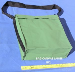 Canvas Shoulder Bag for Large Tools (40cm x 40cm x 15cm)