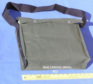 Canvas Shoulder Bag for Small Tools (36cm x 24cm x 11cm)