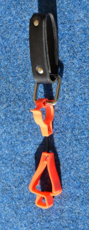 Belt loop holder & Glove clip